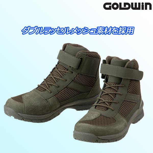 GOLDWIN 〔WEB価格〕★新作★GSM1053 メッシュライディングシューズ オリーブ(OV)◆全3色◆