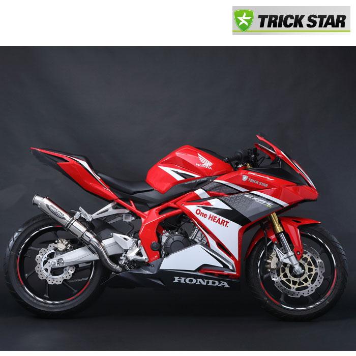 TRICK STAR 【お取り寄せ】 レーシングスリップオンマフラー ショットガン  ホンダCBR250RR