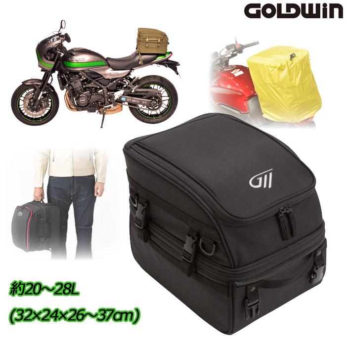 GOLDWIN 〔WEB価格〕GSM27004 シートバッグ 28 ブラック(K)◆全3色◆