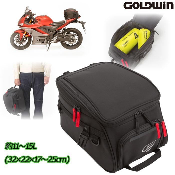 GOLDWIN GSM27005 シートバッグ 15 ブラック(K)◆全3色◆
