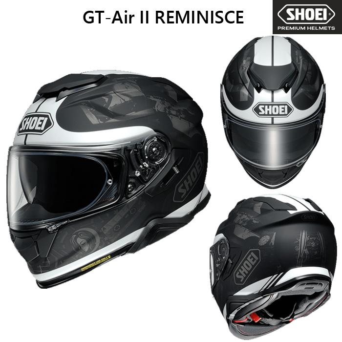 SHOEI ヘルメット 〔WEB価格〕GT-Air II REMINISCE 【ジーティー - エアー ツー レミニス】 フルフェイスヘルメット