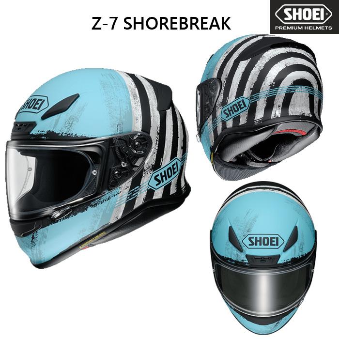 SHOEI ヘルメット Z-7 SHOREBREAK 【ゼット-セブン ショアブレーク】 フルフェイスヘルメット