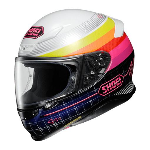 SHOEI ヘルメット (個別配送のみ 他商品との同梱配送不可)Z-7 ZORK 【ゼット-セブン ゾーク】 フルフェイスヘルメット TC-7 (PINK/WHITE)