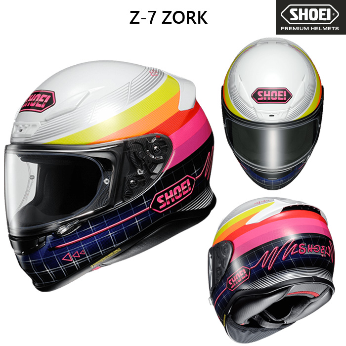 SHOEI ヘルメット 〔WEB価格〕  Z-7 ZORK 【ゼット-セブン ゾーク】 フルフェイスヘルメット