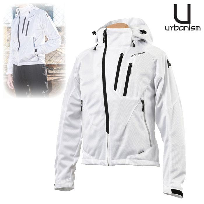 〔WEB価格〕★新作★ UNJ-079 フードメッシュジャケット WHITE ◆全4色◆