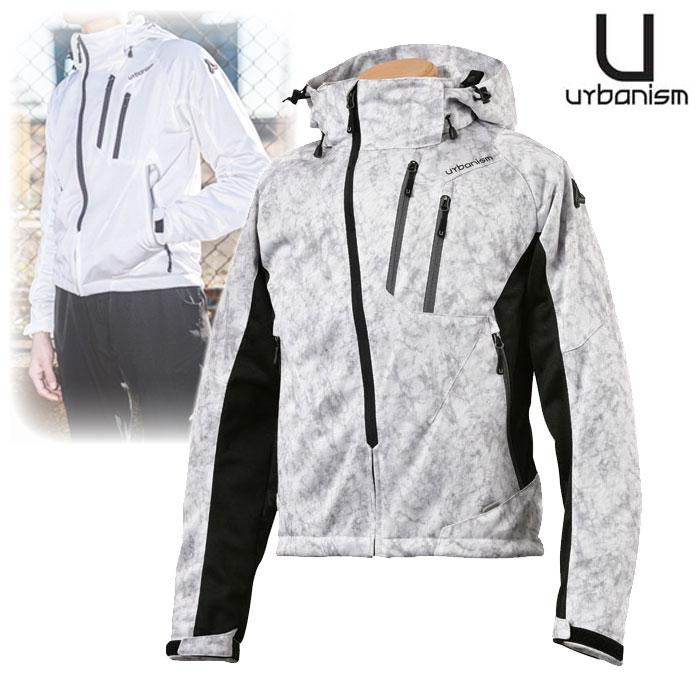 J-AMBLE 〔WEB価格〕UNJ-079 フードメッシュジャケット LIGHT GRAY CAMO ◆全4色◆