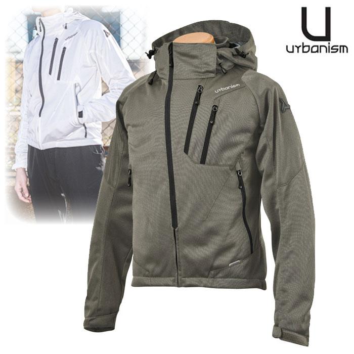 〔WEB価格〕UNJ-079 フードメッシュジャケット SOIL GRAY ◆全4色◆