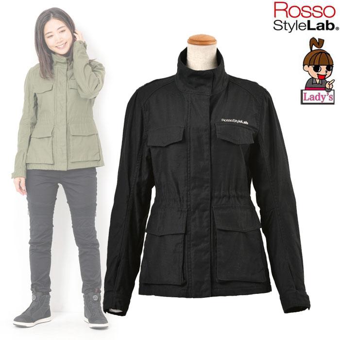 J-AMBLE 〔WEB価格〕★新作★【レディース】 ROJ-85 M65 ミリタリージャケット BLACK ◆全3色◆