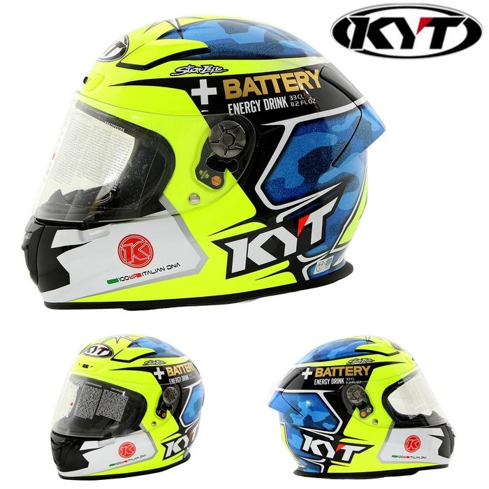 KYT 【KR-1】Alexi Espargalo Replica BLUE  アレックス・エスパルガロ・レプリカ・ブルー フルフェイスヘルメット