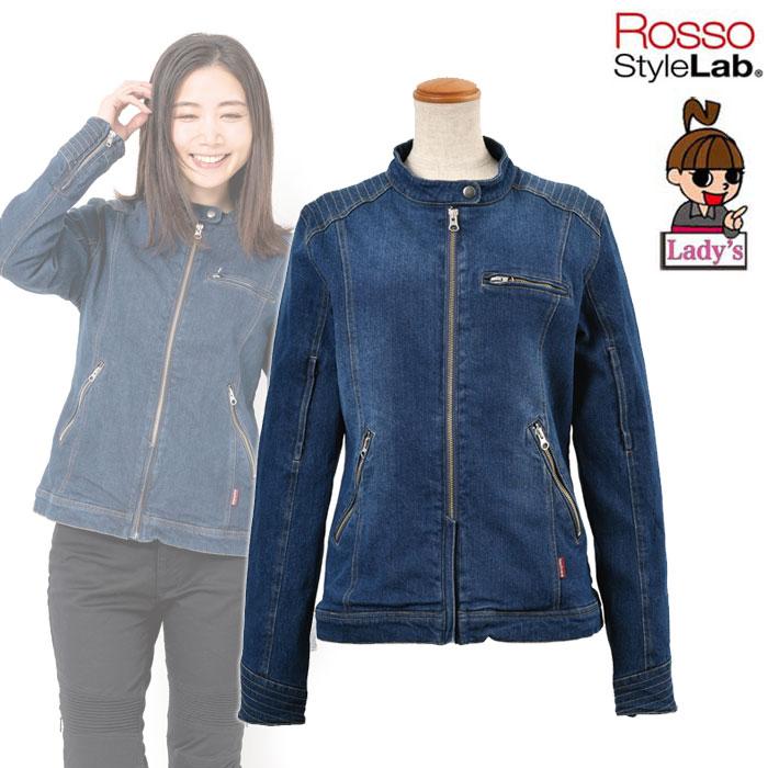 ROSSO StyleLab デニムライダースジャケット