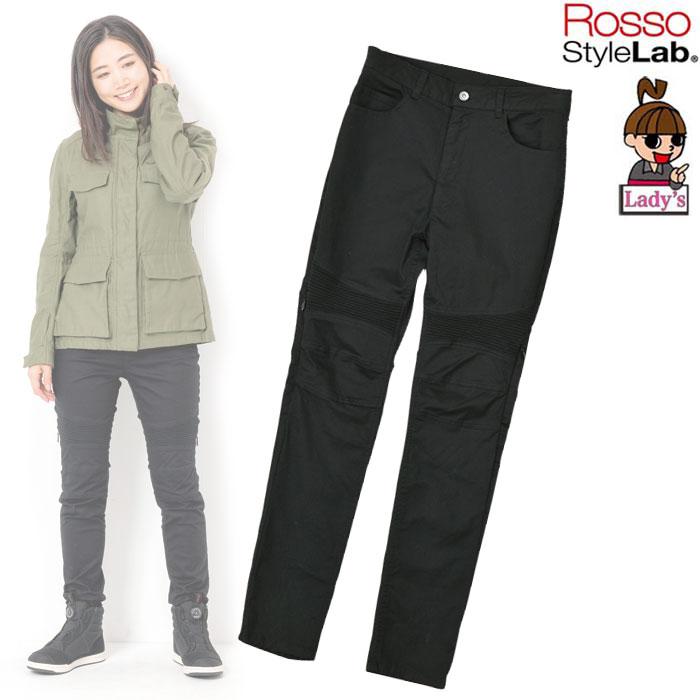 【レディース】 ROP-48 ストレッチスキニーパンツ BLACK ◆全4色◆