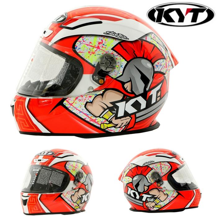 KYT 【KR-1】Simone Corsi Replica RED シモーネ・コルシ・レプリカ・レッド フルフェイスヘルメット