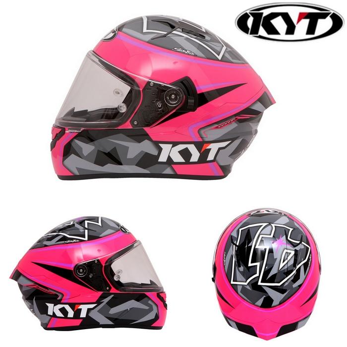 KYT 【NF-R】ALEXI ESPARGALO REPLICA 2017 FUXIA エスパルガロ レプリカ 2017 フクシャ(赤紫) フルフェイスヘルメット
