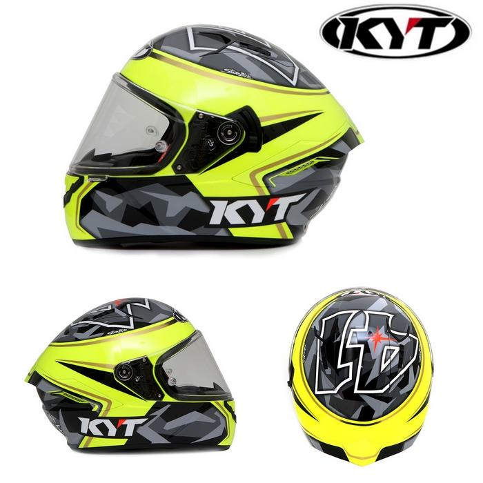 KYT 【NF-R】ALEXI ESPARGALO REPLICA 2017 エスパルガロ レプリカ 2017 フルフェイスヘルメット