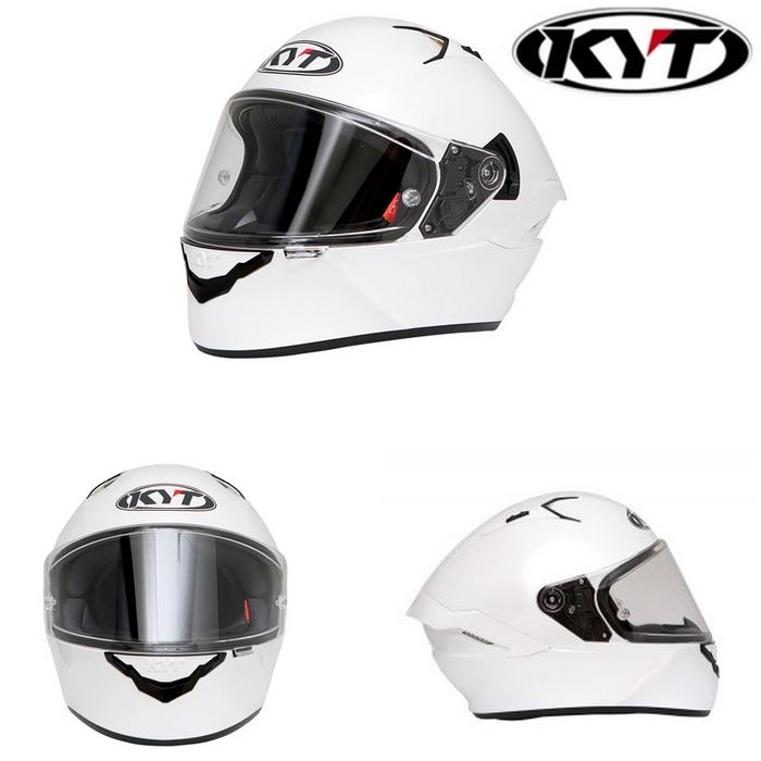 KYT 〔WEB価格〕【NF-R】PLAIN PEARL WHITE プレーンパールホワイト フルフェイスヘルメット