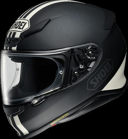 SHOEI ヘルメット Z-7 EQUATE 【ゼット-セブン イクエート】 フルフェイスヘルメット TC-5 (BLACK/WHITE)
