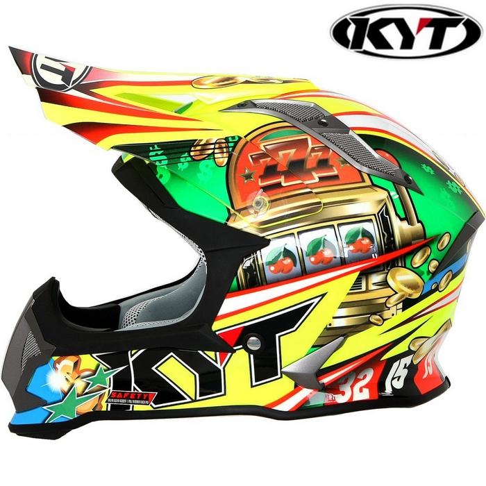KYT 〔WEB価格〕【STRIKE EAGLE】ルーレット グラフィックモデル オフロードヘルメット
