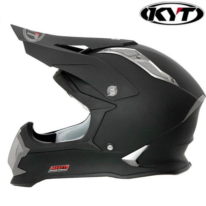 KYT 〔WEB価格〕【STRIKE EAGLE】マットブラック グラフィックモデル オフロードヘルメット