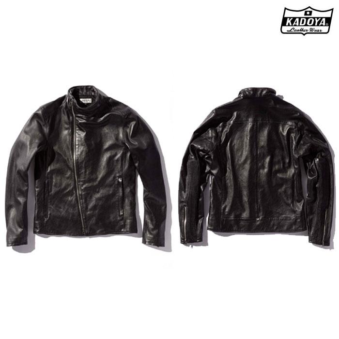 KADOYA (大きいサイズ)1204 MID RIDERS レザージャケット