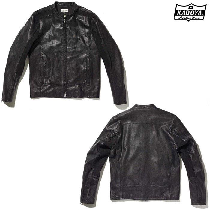KADOYA (大きいサイズ) 1303 SWITCH RIDERS レザージャケット