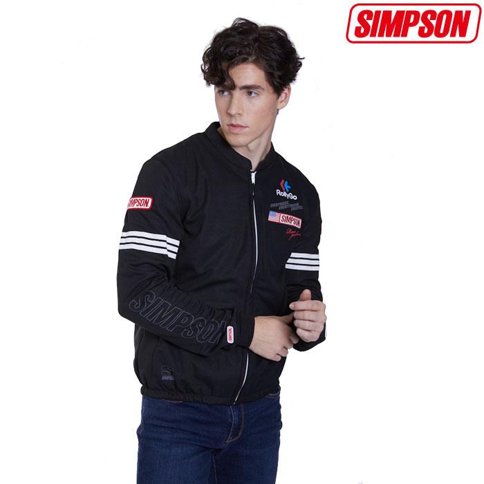 SIMPSON 〔WEB価格〕★新作★NSM-2020LTD メッシュジャケット 春夏用 ホワイト◆全4色◆