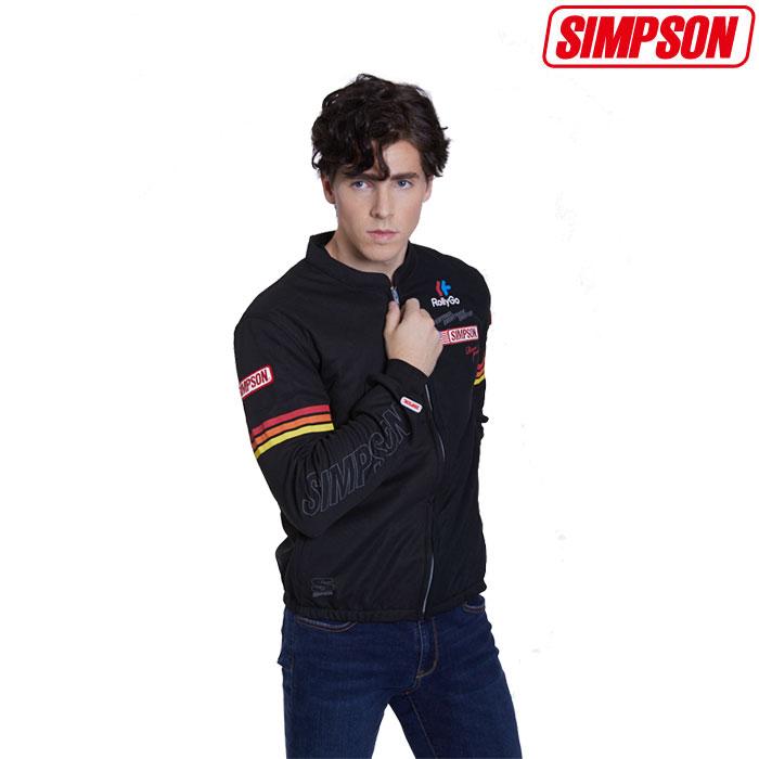 SIMPSON 〔WEB価格〕★新作★NSM-2020LTD メッシュジャケット 春夏用 レインボー◆全4色◆