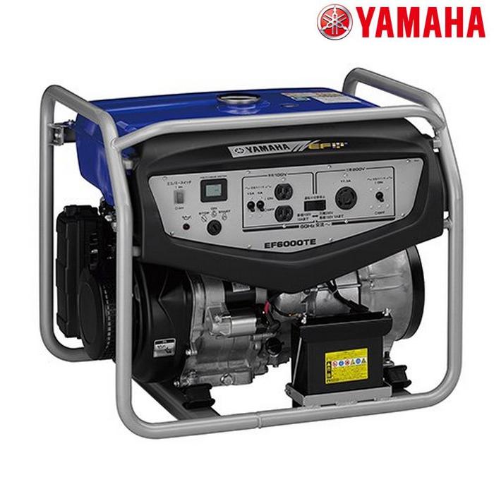 Y'S GEAR 〔WEB価格〕発電機 EF6000TE(50Hz)/Q8YYSKH00021