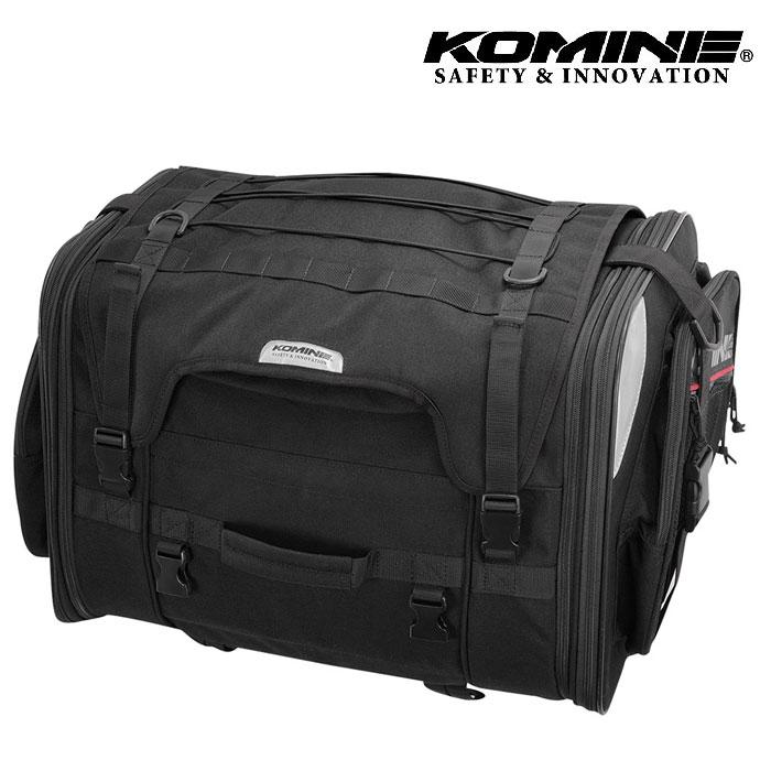 komine SA-242 ロングジャーニーシートバッグ ブラック