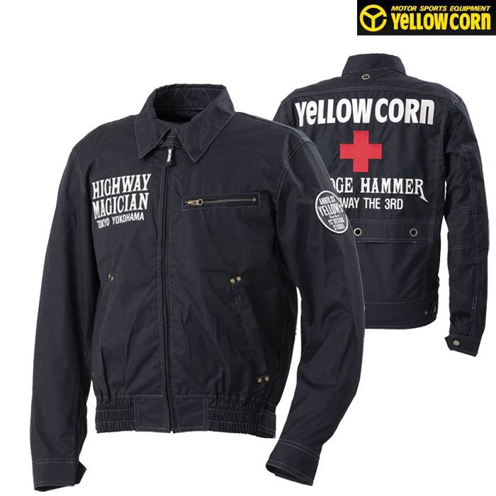 〔WEB価格〕★新作★YB-0100 コットンツイルジャケット ブラック◆全5色◆