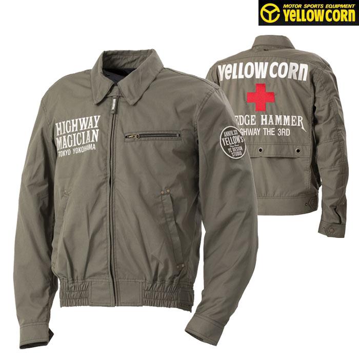 Yellow Corn YB-0100 コットンツイルジャケット カーキ◆全5色◆