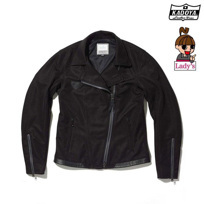 KADOYA (レディース) 6254 MARKSMAN メッシュジャケット ブラック◆全3色◆