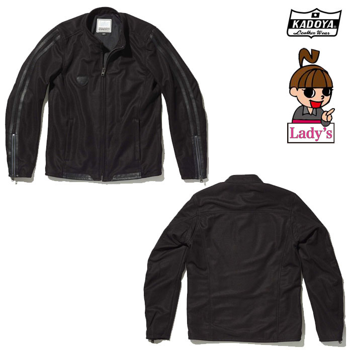 KADOYA (レディース) 6255 THOMPSON メッシュジャケット ブラック ◆全3色◆