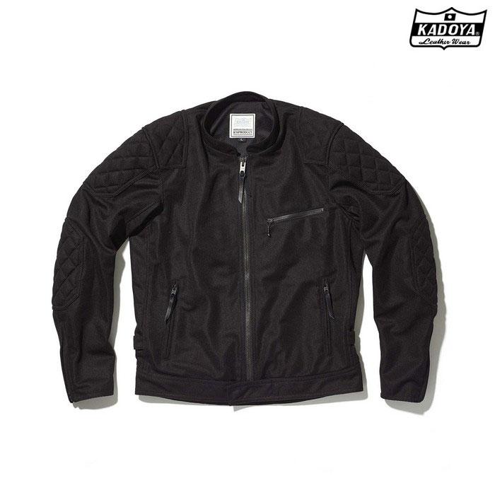 KADOYA 6257 VLM-4 メッシュジャケット ブラック ◆全3色◆