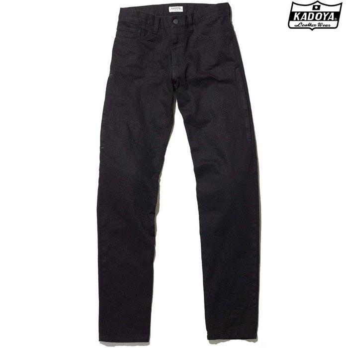 KADOYA 6258 KJ-REGULAR デニムパンツ ブラック ◆全2色◆