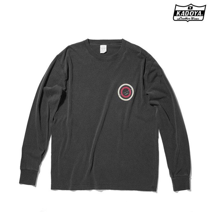 KADOYA 7866 LONG-T SUN CONT ロングTシャツ ブラック ◆全2色◆