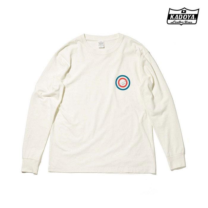 KADOYA 7866 LONG-T SUN CONT ロングTシャツ オフホワイト ◆全2色◆