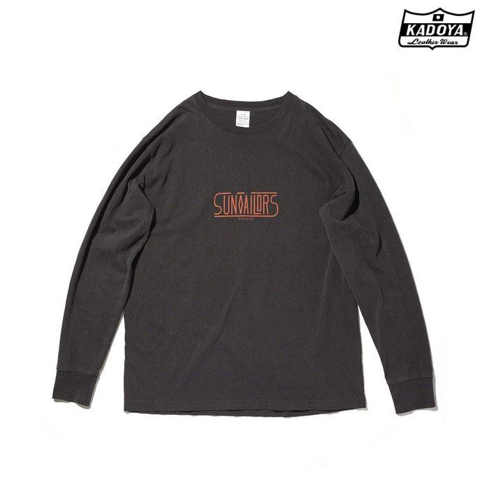 KADOYA 7867 LONG-T SUN TAILOR ロングTシャツ ブラック ◆全2色◆