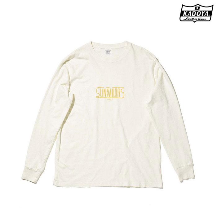 KADOYA 7867 LONG-T SUN TAILOR ロングTシャツ オフホワイト ◆全2色◆