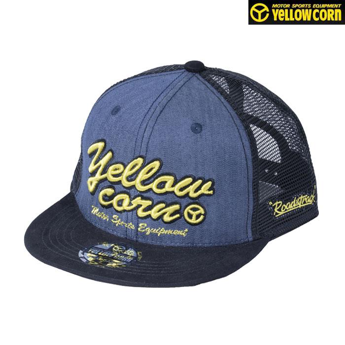 Yellow Corn YC-011 メッシュCAP デニム◆全3色◆