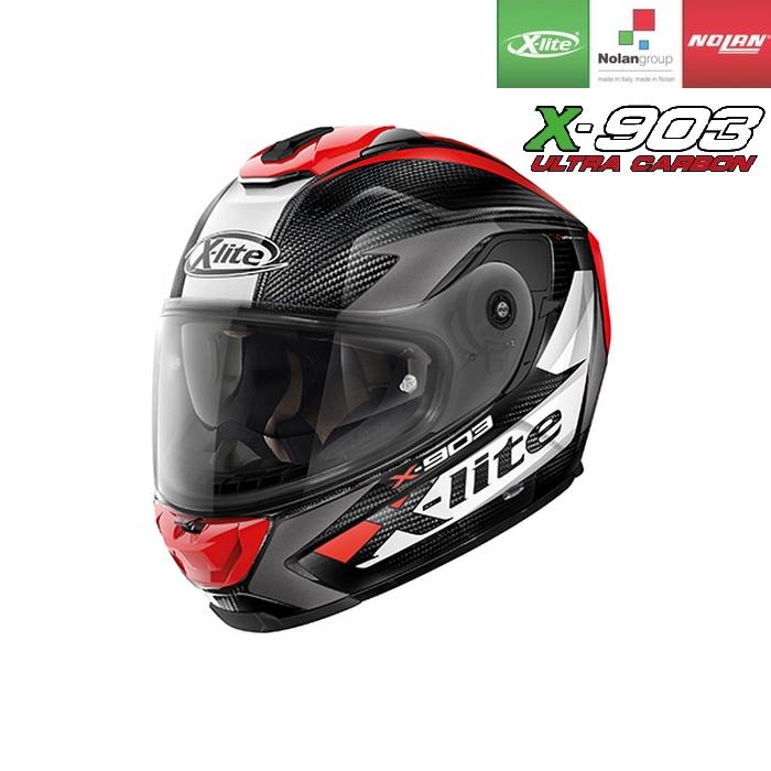 NOLAN NOLAN X-lite X-903 ULTRA CARBON ノビレス レッド/27 フルフェイスヘルメット
