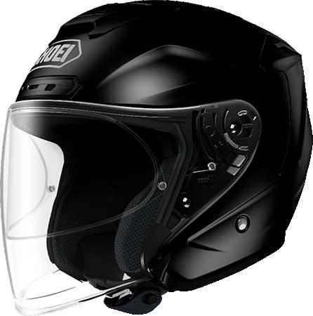 SHOEI ヘルメット 〔アウトレット品 化粧箱無し〕J-FORCE IV 【ジェイ-フォース フォー】ジェットヘルメット ブラック