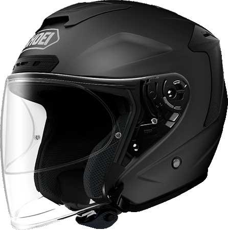 SHOEI ヘルメット 〔アウトレット品 化粧箱無し〕J-FORCE IV 【ジェイ-フォース フォー】ジェットヘルメット マットブラック