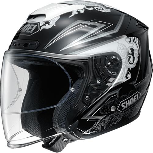 SHOEI ヘルメット 〔アウトレット品 化粧箱無し〕J-FORCE IV REFINADO【ジェイ-フォース フォー レフィナード】ジェットヘルメット