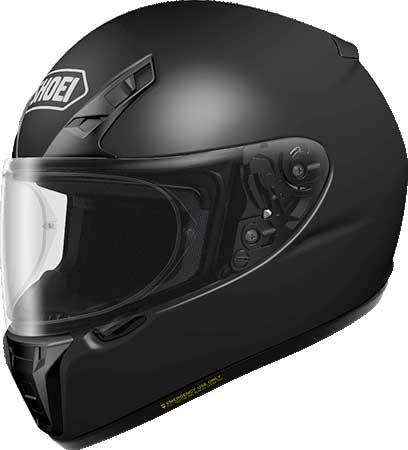 SHOEI ヘルメット 〔アウトレット品 化粧箱無し〕RYD 【アールワイディー】 フルフェイス ヘルメット マットブラック