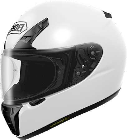 SHOEI ヘルメット 〔アウトレット品 化粧箱無し〕RYD 【アールワイディー】 フルフェイス ヘルメット ホワイト