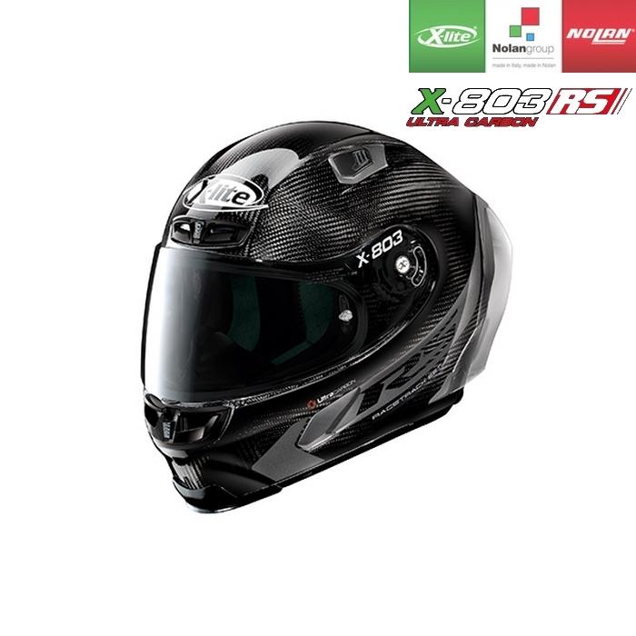 NOLAN NOLAN X-lite X-803RS ULTRA CARBON ホットラップ カーボン/15 フルフェイスヘルメット