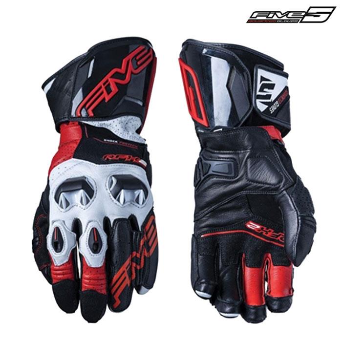 FIVE RFX2 レーシンググローブ ブラック/レッド◆全4色◆