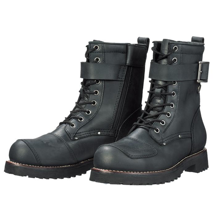 SIERRA DESIGNS SD5006 9ホールバイカーズブーツ ブラック◆全2色◆