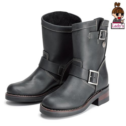 SIERRA DESIGNS (レディース)SD5101 レディース 4インチエンジニアブーツ ブラック◆全2色◆