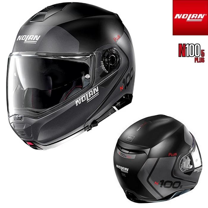 NOLAN NOLAN N1005 PLUS DISTINCTIVE フラットブラック/21 フリップアップヘルメット